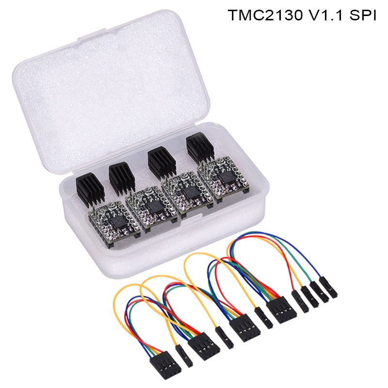 BIQU BIGTREETECH TMC2130 V1 1 SPI stepper motor driver replace A4988  TMC2208 TMC2130 driver for 3d printer controller board