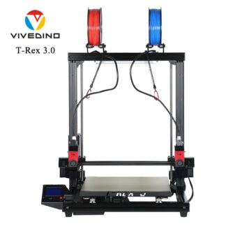 VIVEDINO T-Rex 3.0 Large Format Multi-function IDEX 3D Printer