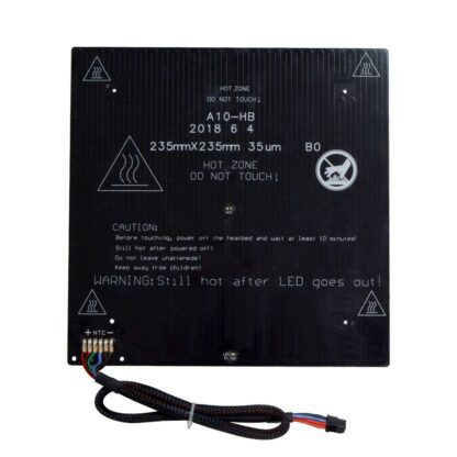 Geeetech A10, A10M Superplate Glass + Heatbed Kit (For Ender 3 upgradation )