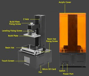 Longer Orange 10 SLA 3D Printer